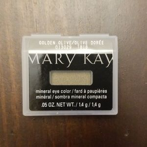 Mary Kay mineral eye color Golden Olive